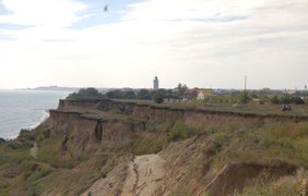Оползень в Одесской области