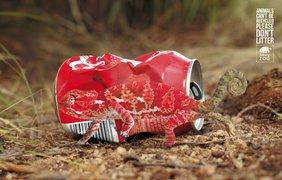 Фото: Животные не могут быть переработаны. Пожалуйста, не мусорьте