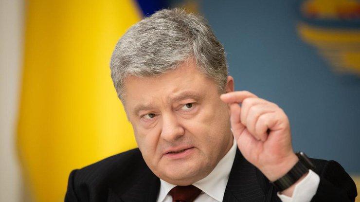 Порошенко подписал закон, запрещающий «маски-шоу»