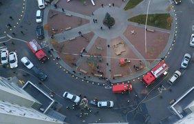 Фото с места ЧП: facebook.com/DSNSKyiv