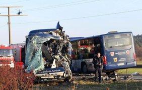 В автобусах было 40 пассажиров. Фото: Karina Palzer/bild.de