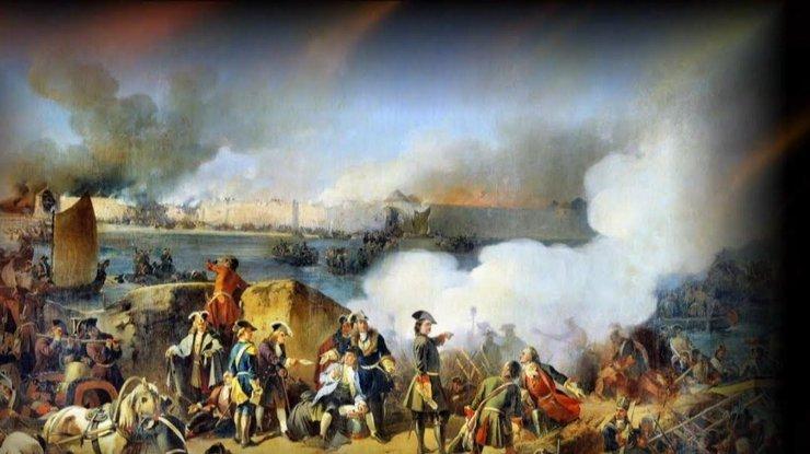 Порошенко орезне, устроенной Россией вБатурине в 1708-ом году  — Нечеловеческая жестокость