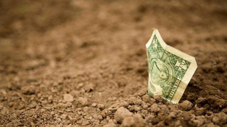 Курс доллара снизился, курс евро возрос