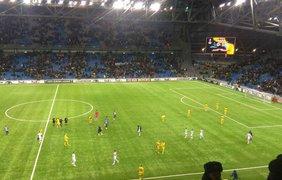 """Динамо""-""Астана"" 29 листопада. Фото: podrobnosti.ua"