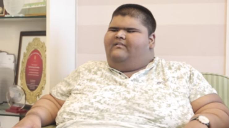 Самый толстый ребенок вмире похудел наодин центнер