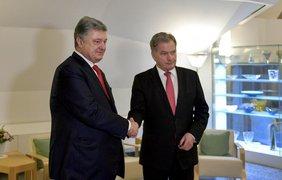 Петр Порошенко посетил с рабочим визитом Финляндию. Фото: president.gov.ua
