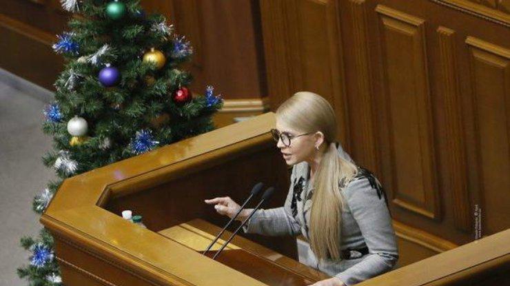 Тимошенко: Украинское государство признали самой бедной страной материка