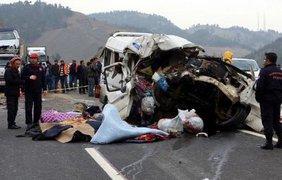 Авария в Турции