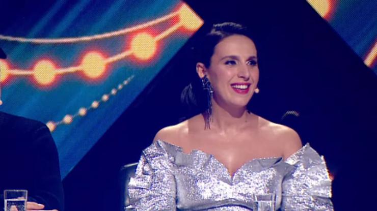 Беременная Джамала вэфире Евровидения призналась участнику в слабости