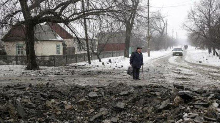 Боевиками ранен мирный гражданин впоселке Гранитное