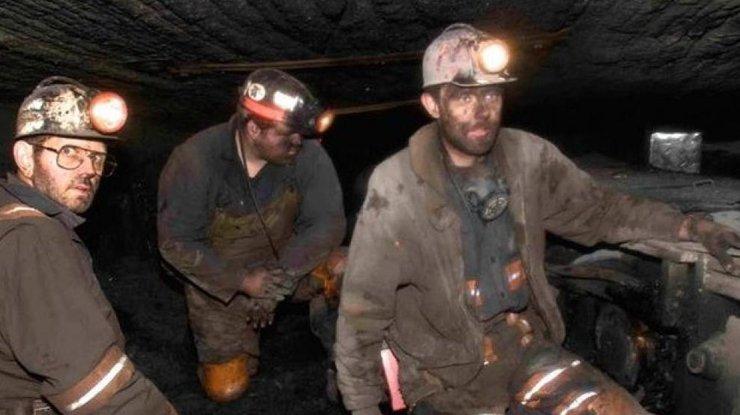Украина зимой снизила добычу угля практически натреть