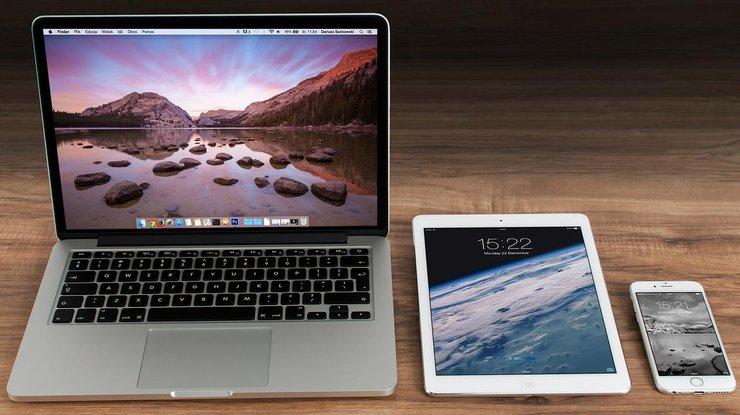 Компания Apple, при падении продаж, получила рекордный заработок