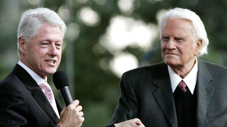 «Пастор Америки» Билли Грэм скончался на100-м году жизни