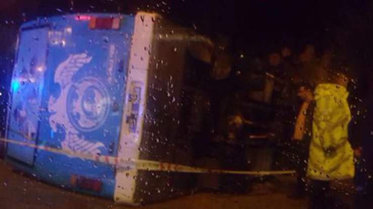 ВТурции вДТП савтобусом пострадали неменее 20 человек