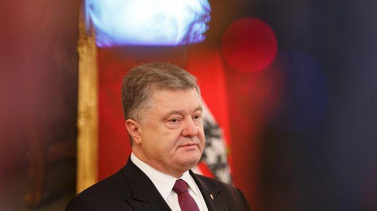 Порошенко пожаловался нагорькую жизнь президента