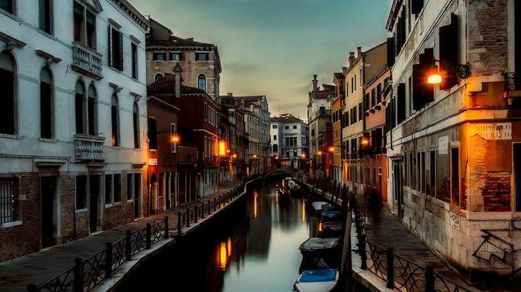 ВВенеции пересохли легендарные каналы