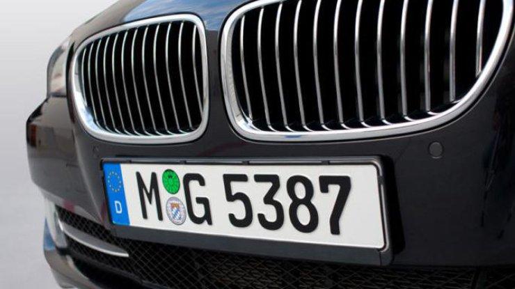 ВГФС назвали количество незаконных машин на«евробляхах» вгосударстве Украина