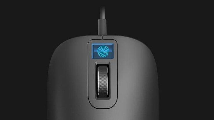 Компания Xiaomi планирует в ближайшем будущем представить миру мышь со сканером отпечатка пальца