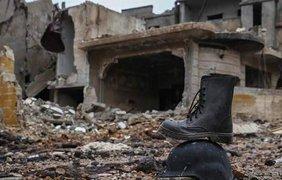 Фото разрушенного города