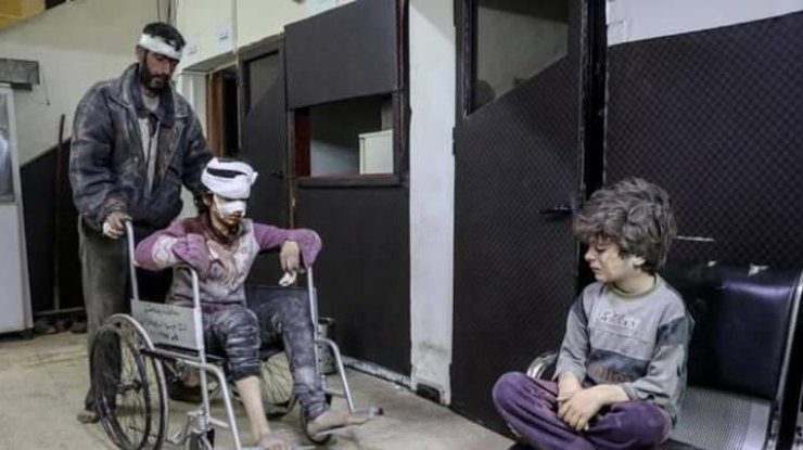 Фото: из Facebook The Syrian Revolution 2011
