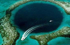 Большая Голубая Дыра, Белиз. Фото wikipedia.org