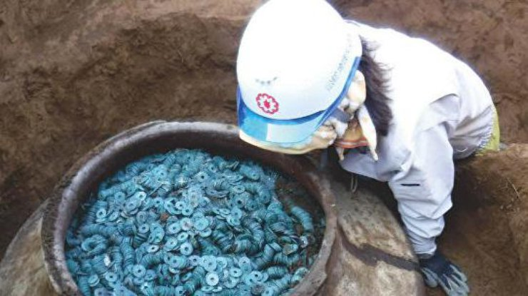 Вяпонской префектуре Сайтама найден крупнейший денежный клад
