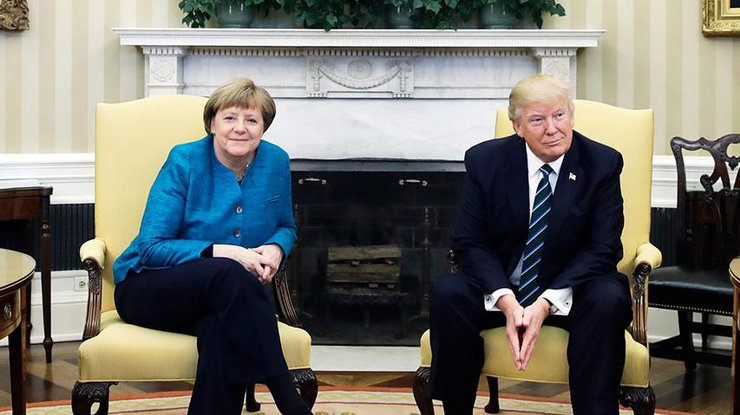 Трамп иМеркель обеспокоены из-за разработки в Российской Федерации нового вооружения