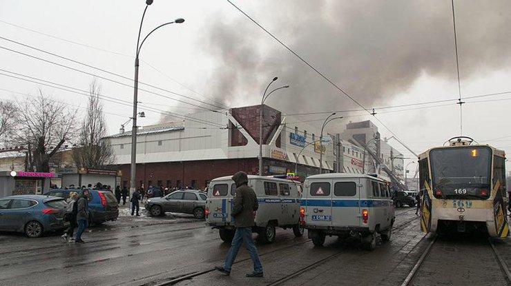 Власти Кемеровской области назвали предварительную версию пожара вТЦ