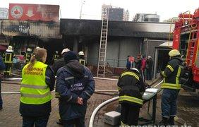 Пожар на станции метро