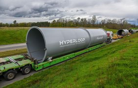 Hyperloop: началось строительство тоннеля