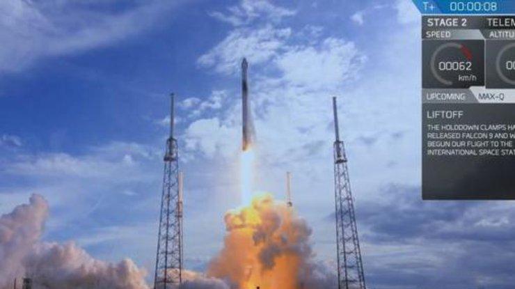 Falcon 9 доставит наМКС приборы для исследования гроз наЗемле