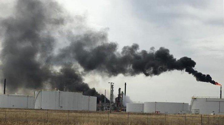 Нанефтеперерабатывающем заводе вСША произошёл взрыв