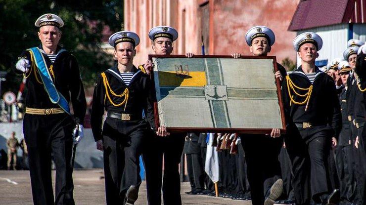 В Украину вернули военно-морской флаг УНР