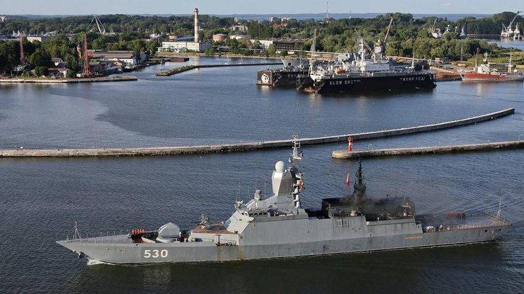 Военные кораблиРФ подошли клатвийским границам: стали известны детали инцидента