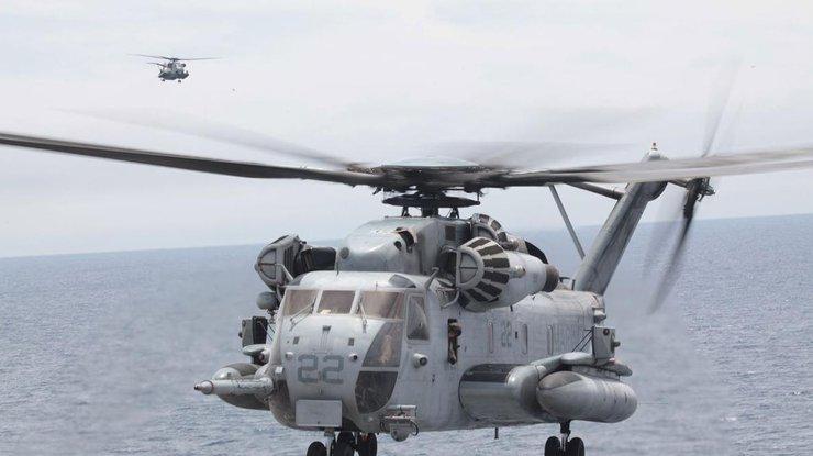ВСША разбился военный вертолет, экипаж умер