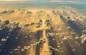 Фото: социальные сети / Рассвет, вид с неба