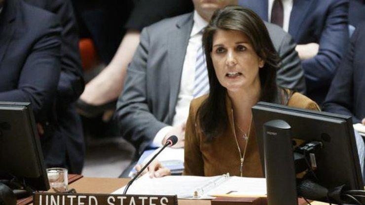 Хейли сказала, при каких условиях США ответят на«применение химоружия» вСирии