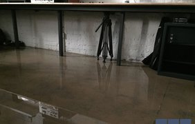 В центре столицы затопило офис украинской группы