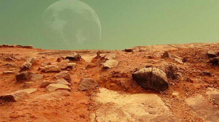 Ученые отыскали наМарсе следы жизни— поверхность Марса, следы жизни, озера