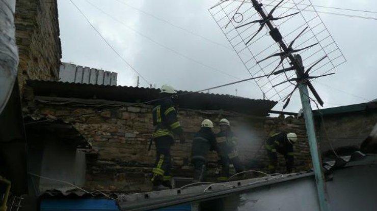 Взрыв иобрушение водесской квартире: сильно пострадал хозяин жилья