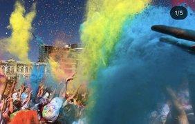 Красочный пробег: в Киеве состоялся юбилейный Kyiv Color Run