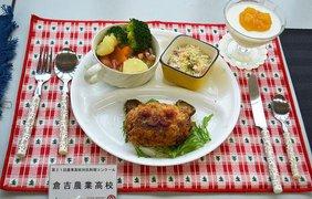 Что едят японские школьники