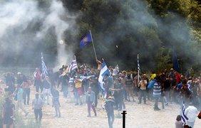 В Греции прошли протесты из-за соглашения с Македонией