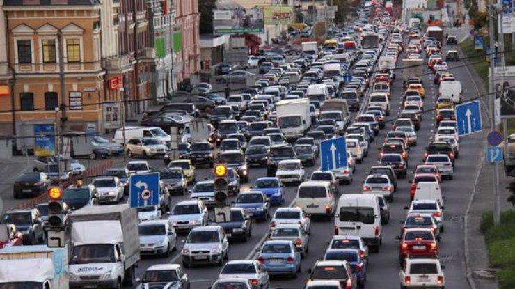 ВУкраине сузят полосы движения