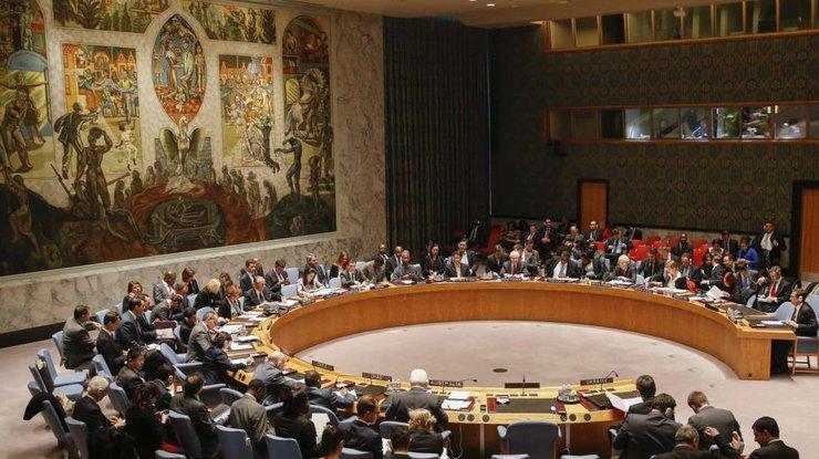 Российская Федерация  приветствовала принятие Совбезом ООН резолюции поУкраине
