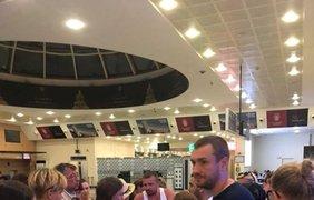 Украинцы в грузинском аэропорту