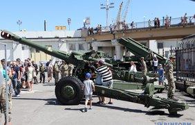 В Одессе отмечают День Военно-морских сил