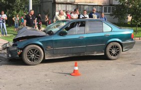 Виновник ДТП сбежал. Фото: provce.ck.ua