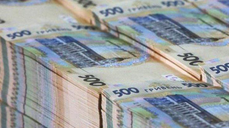 Дефицит госбюджета Украины составляет почти 10 млрд гривен