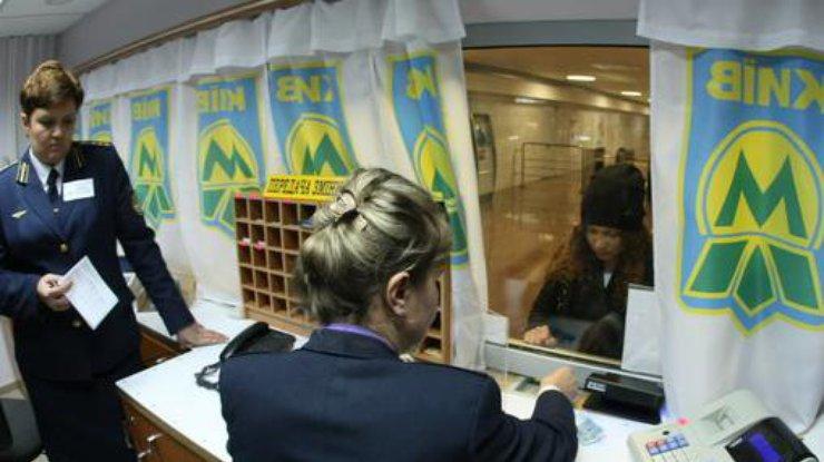 Вкиевском метрополитене заканчивается бесплатный обмен жетонов